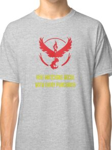 free matching decal with every purchase moltres logo Classic T-Shirt