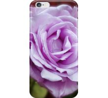 Heavenly Fragrance - Dreamy Blue Moon Rose iPhone Case/Skin