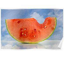 Summer Watermelon Poster