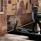 The Gondolier by Marylou Badeaux