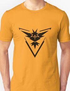 PokemonGo Yellow Instinct Team Black Unisex T-Shirt