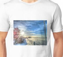 Cold Winter Sun Unisex T-Shirt