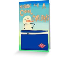 Wishing You A Cool Christmas Greeting Card