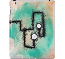 the creatures from the drain painting 9 iPad Case/Skin
