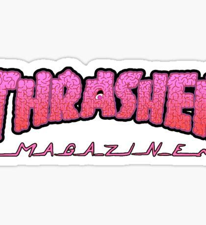 THRASHER / BRAINZ Sticker