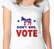Dont Boo, VOTE Women's Fitted Scoop T-Shirt