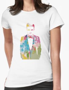 Justin Timberlake Water Colour Womens Fitted T-Shirt