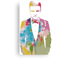 Justin Timberlake Water Colour Canvas Print