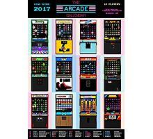 The Arcade Calendar - 2017 Photographic Print