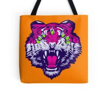 Seven-Eyed Tiger Tote Bag