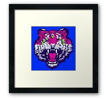 Seven-Eyed Tiger Framed Print
