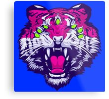 Seven-Eyed Tiger Metal Print