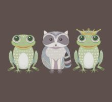 Frog, Raccoon, Prince  Kids Clothes