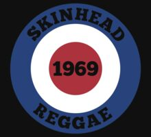 SKINHEAD REGGAE MODS 1969 One Piece - Short Sleeve