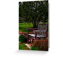 A Time For Everything (please read verse)  Greeting Card