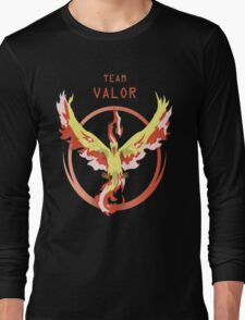 Valor Pokemon Long Sleeve T-Shirt