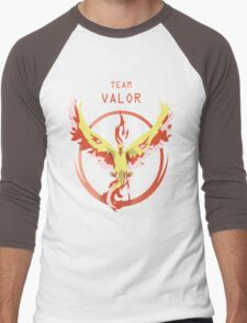 Valor Pokemon Men's Baseball ¾ T-Shirt