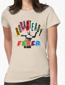 ROCKSTEADY FEVER Womens Fitted T-Shirt