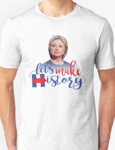 HRC Let's Make History! Unisex T-Shirt