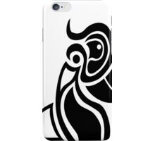 the kings of paradise 2 black on white oversize iPhone Case/Skin