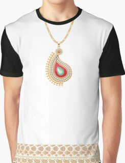 Paisley necklace Graphic T-Shirt