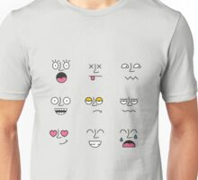 Funny Emotions Unisex T-Shirt