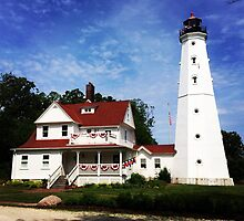 North Point Lighthouse by Hickoryhill