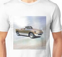 Watercolor painting of a vintage car Unisex T-Shirt