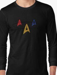 Star Trek Fleet Insignias Long Sleeve T-Shirt