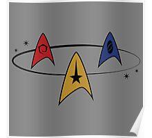 Star Trek Fleet Insignias Poster