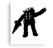 Rapture Big Daddy Silhouette Canvas Print