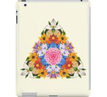 Triangular Flowers iPad Case/Skin