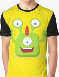 Green Eyed Monster Graphic T-Shirt