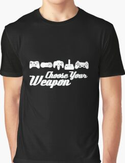Choose Your Weapon Game Graphic T-Shirt
