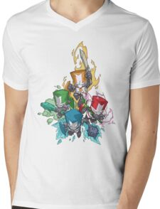 Castle crashers Mens V-Neck T-Shirt