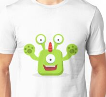 Green Eyed Monster Unisex T-Shirt
