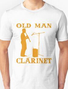 Never Underestimate An Old Man with a Clarinet Unisex T-Shirt