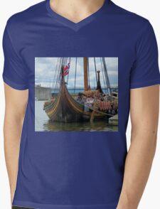 Sneak Up On The Dragon Mens V-Neck T-Shirt
