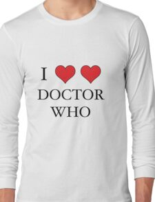 I Heart (x2) Doctor Long Sleeve T-Shirt