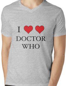 I Heart (x2) Doctor Mens V-Neck T-Shirt