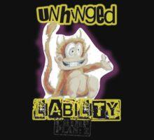 Unhinged Liability - Chimp Plan: Z Kids Tee