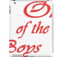 #1 One Of The Boys iPad Case/Skin