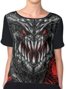 CyberDemon - Doom 4 // Fan-Art Chiffon Top
