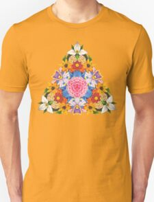 Triangular Flowers T-Shirt