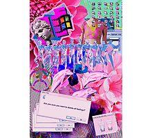 Vaporwave Trash 2 Photographic Print