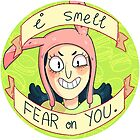 louise belcher sticker by skinnymister