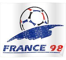 France 98 - Vintage Poster