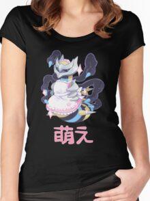 moe giratina Women's Fitted Scoop T-Shirt