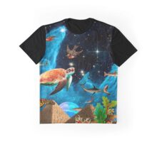 HEAVEN AND EARTH Graphic T-Shirt