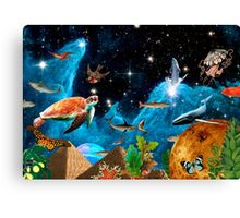 HEAVEN AND EARTH Canvas Print